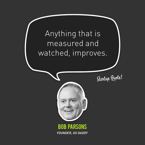 Anything that is measured and watched, improves. - Bob Parsons