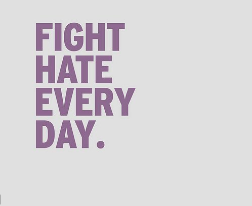 "[Image: A grey background with purple letters that say, ""Fight hate everyday""] A rant: I hate ""spirit days."" I hate when mainstream organizations like GLAAD and HRC sponsor a day to bring recognition to the the plight of gender and sexual minority (GSM) individuals. Discrimination doesn't exist for one single day a year and neither should people's ""support"" for a marginalized group. Simply changing a facebook picture or wearing a purple shirt for one day is great, don't get me wrong. But we need people out on the streets everyday: from calling out people on the use of derogatory slurs to attempting to abolish the gender binary. Yes, I changed my profile pic on facebook today, but I'm also out there living and fighting the systematic oppression everyday. So I find it rather patronizing when facebook ""turns purple"" and all of sudden people think ""progress"" has been made. End rant."