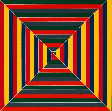 Yummy work by Frank Stella. (via Art Splash: Frank Stella - Connections - Haunch of Venison - London - 30 September - 19 November 2011)
