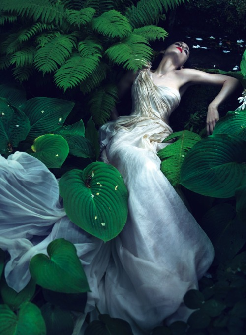 vogue:  Rooney Mara Photographed by Mert Alas and Marcus Piggott for the November Issue of Vogue
