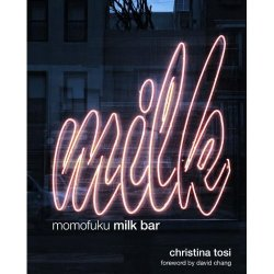 "neighborhoodr-eastvillage:  The Book: Momofuku Milk Bar [Amazon link, though feel free to see if it's available at your local book store when it's released on October 25th].  ""Whimsical dessert recipes — from Compost Cookie to Crack Pie — by Manhattan pastry pro Christina Tosi create a 256-page Wonka World.""—Details Magazine  While the rest of the world can only stare at pretty pictures of Christina's confections, you lucky bastards get to try the real thing. Momofuku Milk Bar251 East 13th Street at 2nd AvenueNew York, NY 10003 —————————— Follow us on Tumblr, Twitter @NHEastVillage or via RSSSubmit a story here or e-mail NHEastVillage@gmail.com"