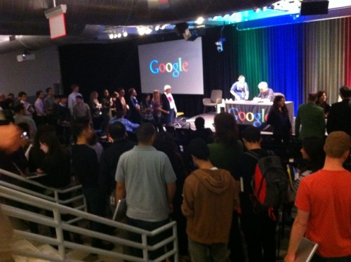 Tony, Tom, Zach and Todd were invited to speak at Google's NY headquarters about the mechanics and aesthetics of making No Reservations. Video coming soon!