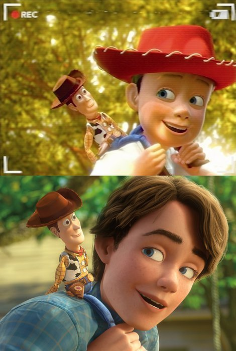 Andy and Woody :)
