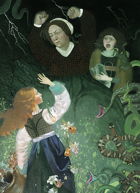 "fairytalemood:  ""The Fairies"" by Nadezhda Illarionova"
