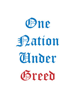 one nation under greed