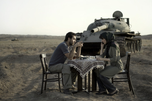 "iradeh:  From a collection titled ""Today's Life and War"" by Iranian photographer Gohar Dashti.  Click on the photo to look at more."