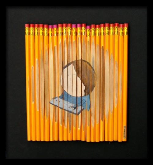 Pencil sets by by Melbourne based artist Ghostpatrol.