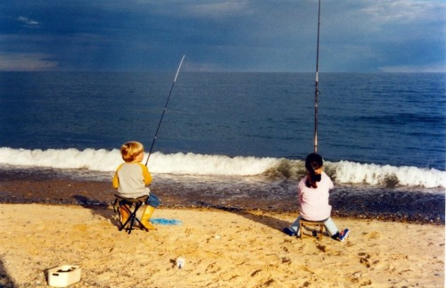 Me and my little brother Jordan fishing in Wexford about 11 years ago. How time flies.