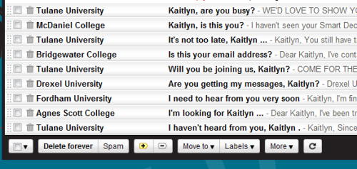 sarcasmsaidit:  these college emails i've been getting have started to sound more and more serial killer-ish.