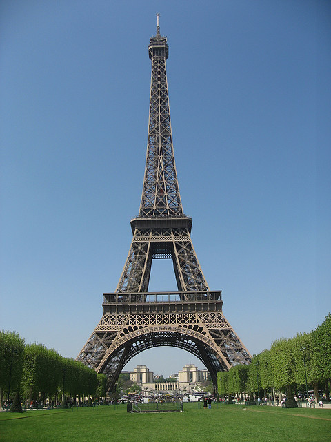 Eiffel Tower by Burkhard_Westphal on Flickr.