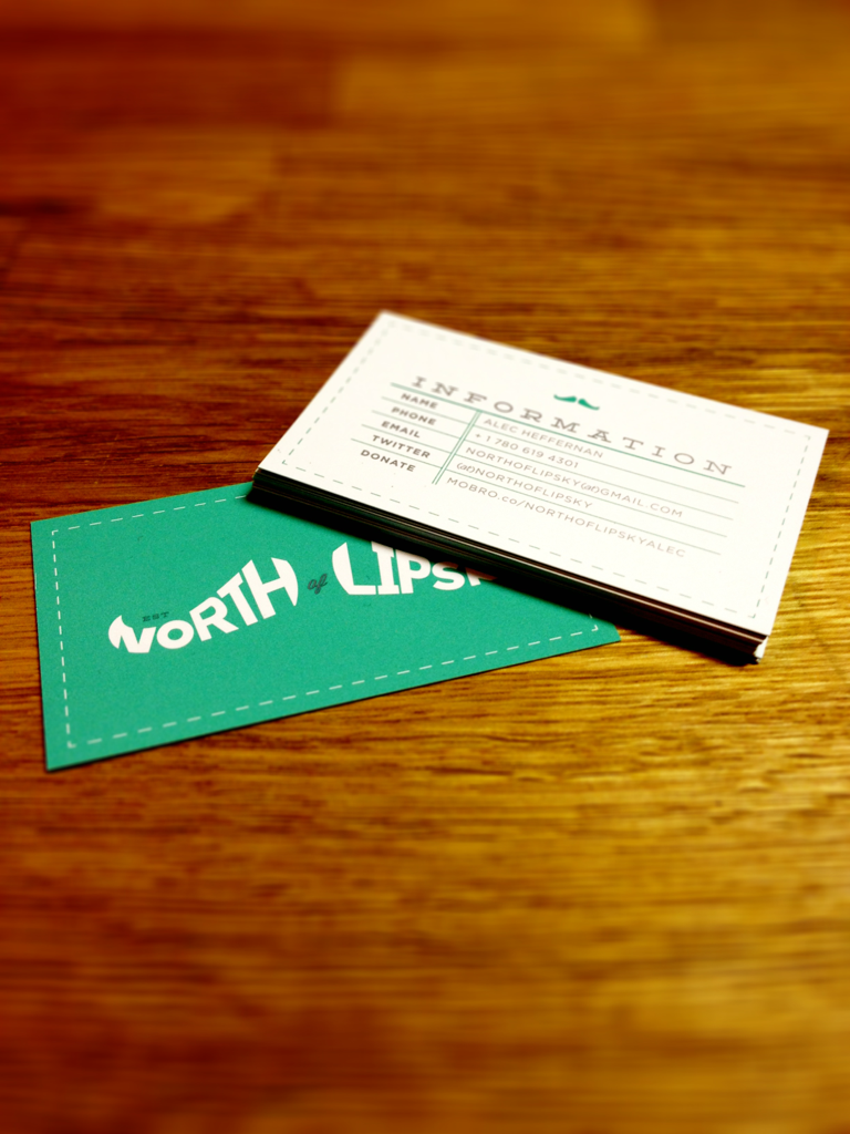 North of Lipski Business cards