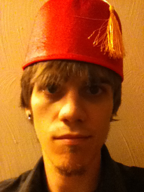 I wear a fez now; fezzes are cool.  October 20, 2011 (via Everyday)