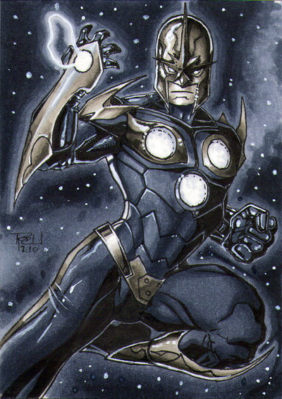 Nova Sketchcard by kinggoji62.
