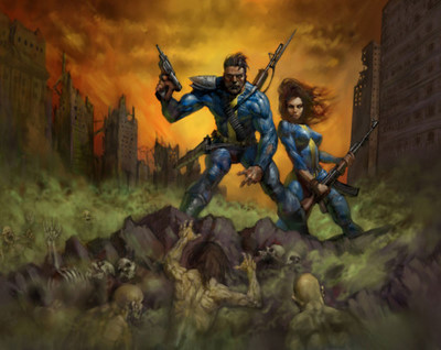 kscottbradbury:  What if Frank Frazetta had been art director for Fallout 3…