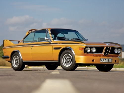 masterpiston:  1971 BMW 3.0 CSL.