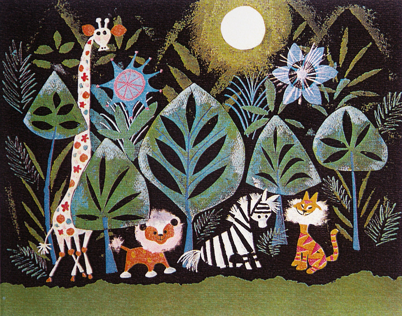 Mary Blair I would like to draw like her …