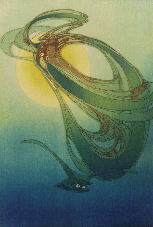 iamwildcat:  Old Mother West Wind by Bertha Lum, 1921