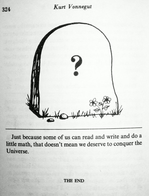 printed-ink:  From Hocus Pocus by Kurt Vonnegut.