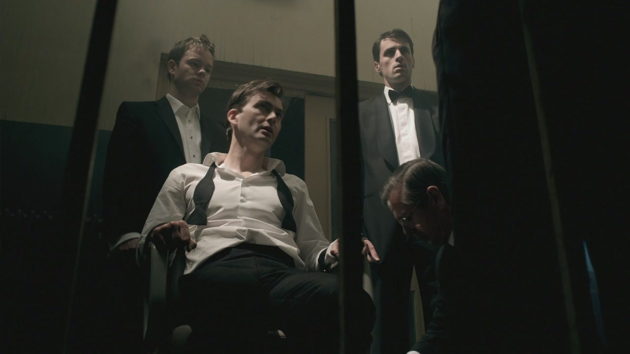 narcissustea:  David Tennant in bondage. I'll be in my bunk.