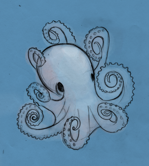An Octopus for Octopus October ;)