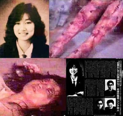 "cookie-head-just:  waaytoofresh:  Inspire Your Living Junko Furuta. The girl who went through 44 days of torture.DAY 1: November 22, 1988: KidnappedKept captive in house, and posed as one of boy's girlfriendRaped (over 400 times in total)Forced to call her parents and tell them she had run awayStarved and malnutritionedFed cockroaches to eat and urine to drinkForced to masturbateForced to strip in front of othersBurned with cigarette lightersForeign objects inserted into her vagina/anusDAY 11: December 1, 1988: Severely beat up countless timesFace held against concrete ground and jumped onHands tied to ceiling and body used as a punching bagNose filled with so much blood that she can only breath through her mouthDumbbells dropped onto her stomachVomited when tried to drink water (her stomach couldn't accept it)Tried to escape and punished by cigarette burning on armsFlammable liquid poured on her feet and legs, then lit on fireBottle inserted into her anus, causing injuryDAY 20: December10, 1989: Unable to walk properly due to severe leg burnsBeat with bamboo sticksFireworks inserted into anus and litHands smashed by weights and fingernails crackedBeaten with golf clubCigarettes inserted into vaginaBeaten with iron rods repeatedlyWinter; forced outside to sleep in balconySkewers of grilled chicken inserted into her vagina and anus, causing bleedingDAY 30: Hot wax dripped onto faceEyelids burned by cigarette lighterStabbed with sewing needles in chest areaLeft nipple cut and destroyed with pliersHot light bulb inserted into her vaginaHeavy bleeding from vagina due to scissors insertionUnable to urinate properlyInjuries were so severe that it took over an hour for her to crawl downstairs and use the bathroomEardrums severely damagedExtreme reduced brain sizeDAY 40: Begged her torturers to ""kill her and get it over with""January 1, 1989: Junko greets the New Years Day aloneBody mutilatedUnable to move from the groundDAY 44: January 4, 1989: The four boys beat her mutilated body with an iron barbell, using a loss at the game of Mah-jongg as a pretext. She is profusely bleeding from her mouth and nose. They put a candle's flame to her face and eyes.Then, lighter fluid was poured onto her legs, arms, face and stomach, and then lit on fire. This final torture lasted for a time of two hours.Junko Furuta died later that day, in pain and alone. Nothing could compare 44 days of suffering she had to go through.When her mother heard the news and details of what had happened to her daughter, she fainted. She had to undergo a psychiatric outpatient treatment . Imagine her endless pain.Her killers are now free men. Justice was never served, not even after 20 years.They deserve a punishment much greater than they had put upon Furuta, for putting an innocent girl through the most unbearable suffering.This story from 1989 is true. Please spread her story around. Everyone should know about the existence of Junko Furuta's unimaginable and incomprehensible suffering, and this is why this group has been made.Invite your friends. Never let her story be forgotten. If this story changes the life of at least one person then it has been worth it.Rest In Eternal Peace,Junko Furuta1989-EternityFriends Just Dont Read it ….Please share it too…. i read this on Facebook today. this woman went through 44 days of unbearable torture that were completely unthinkable. why is it that people decide to end their lives because the going gets tough. She was tortured to the point where she wanted to take her own life but she couldn't. so before you pull the trigger or decide to take you own life stop and think there is always someone who is doing worse than you. don't let stupid people or society be the reason you take your life. just smile and be happy because life could be worse so smile and realize your more grateful than many others  holy. :'O"