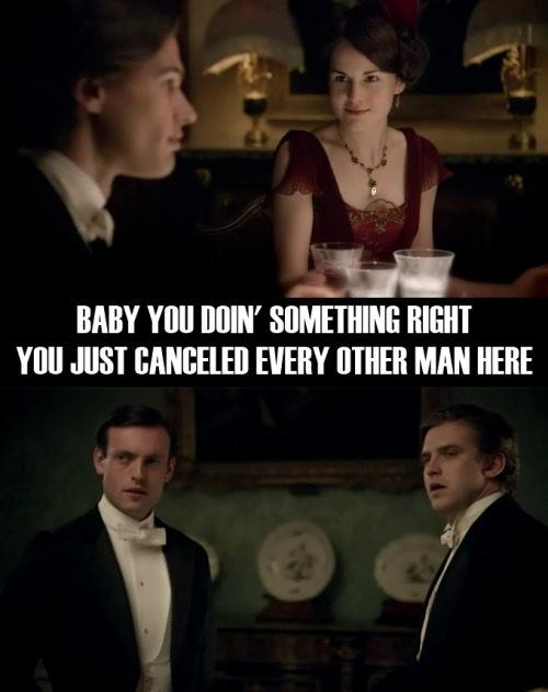 Attention fans of Downton Abbey and/or Beyoncé.