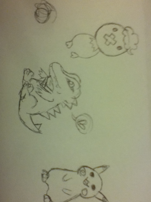 Pokemon lol I dunno