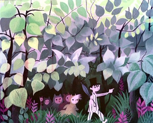 Concept art for Peter Pan by Mary Blair ~G