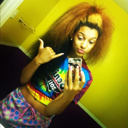 "viclee-badyella12:  Big Hair ""Hang Loose""(:"