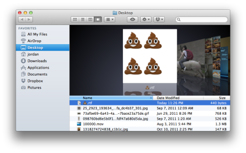 OS X Lion is seriously amazing you guys.