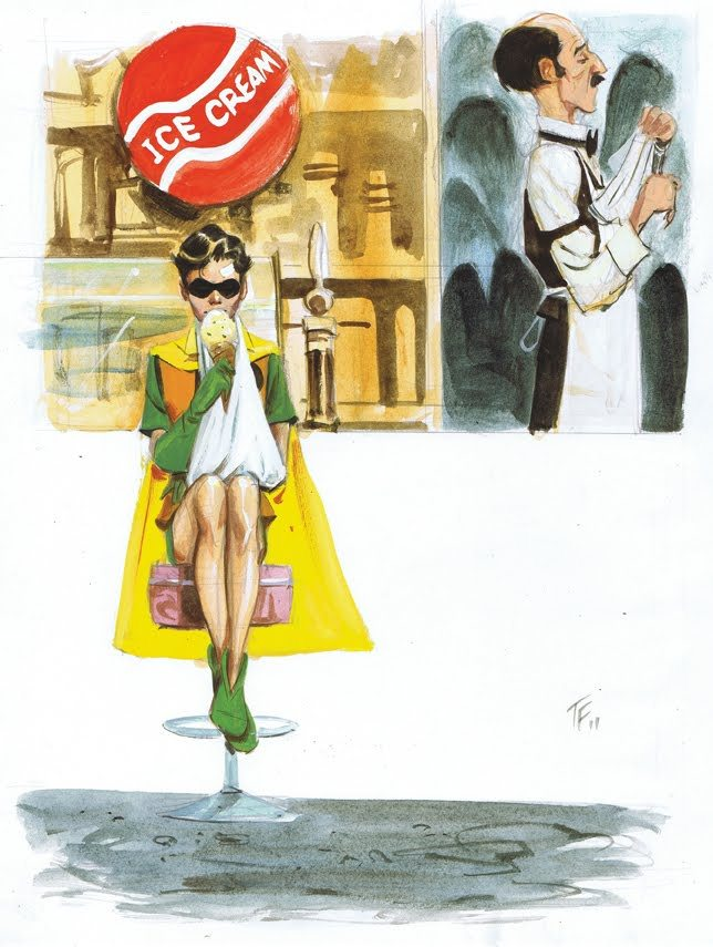 awyeahcomics:  Robin by Tom Fowler