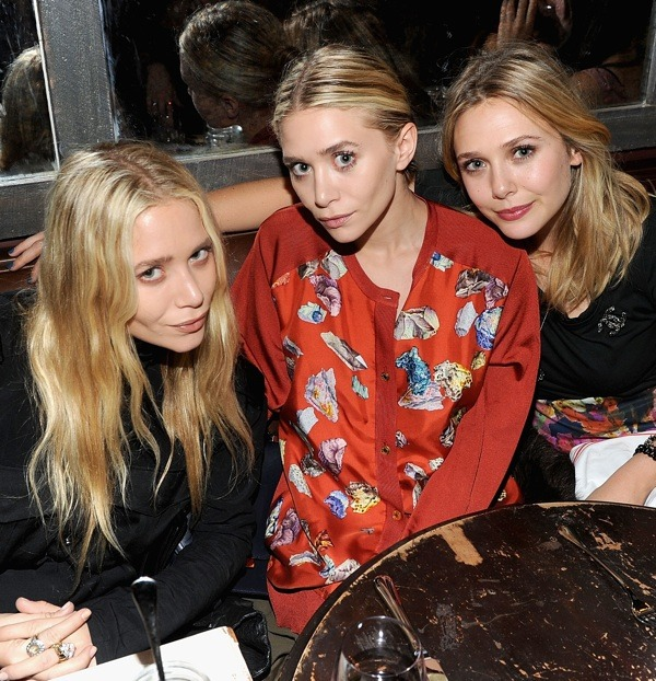 voguechanel:  The Olsen Sisters