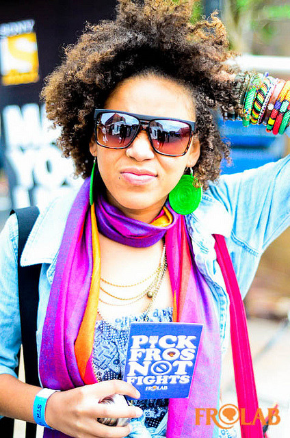 Pick Fros Not Fights! on Flickr.@Mayathepoet #Frospotted Jo'Burg South Africa #PickFrosNotFights
