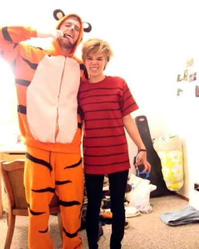 Calvin and Hobbes!!! So freaking awesome!