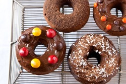 Triple Chocolate Donuts (gluten free)