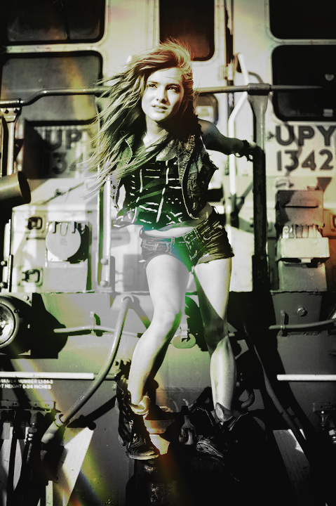 Edited a photo of @chachigonzales! :)