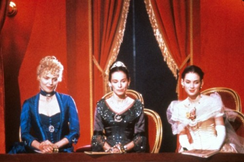costumefilms:  Michelle Pfeiffer, Geraldine Chaplin and Wynona Ryder in The Age of Innocence, 1994