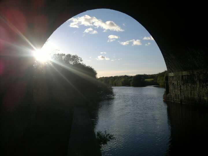So I walked about 20 miles yesterday, very rewarding.. walking the river path from one town to another gives me time to really think, with no interruptions :)