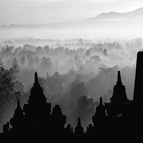 Embracing The East (by Hengki Koentjoro) Borobudur Temple, Magelang, Indonesia