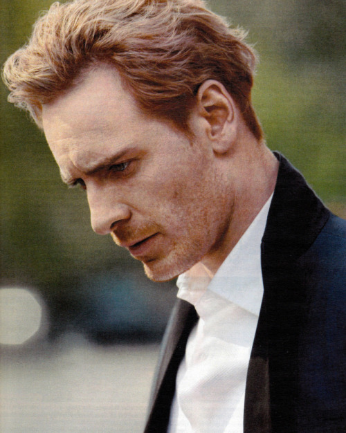 Michael Fassbender photoshoot