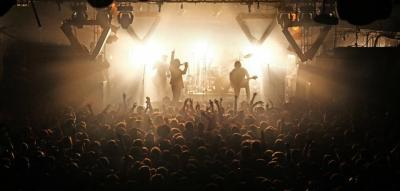 Enter Shikari Live @ Electric Ballroom, Camden.  We spent the last 2 days with the boys shooting with 13 cameras for their next DVD 'Phenakistoscope' Photo by Sam Neill