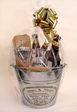 Personalized Gift Basket in a Bucket