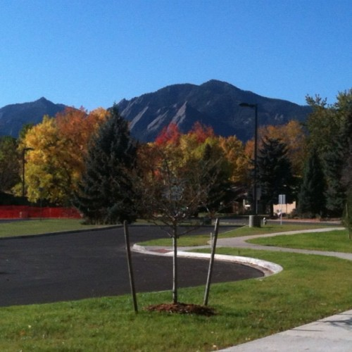 My hood - beautiful #Boulder (Taken with instagram)