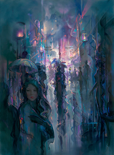 John Pitre Something in the way the light hits your face, something in the way the night stops and starts again and again.
