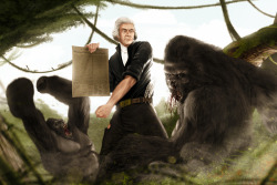Thomas Jefferson Vs Gorilla