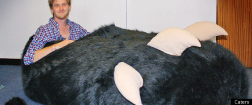 (via Chinese Manufacturer Sends Man Giant Slipper)
