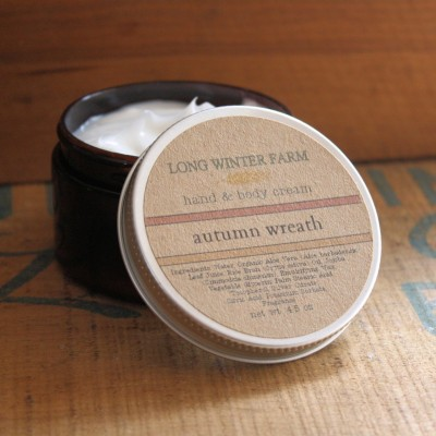 """Autumn Wreath"" Skin Cream by LongWinterSoapCo"