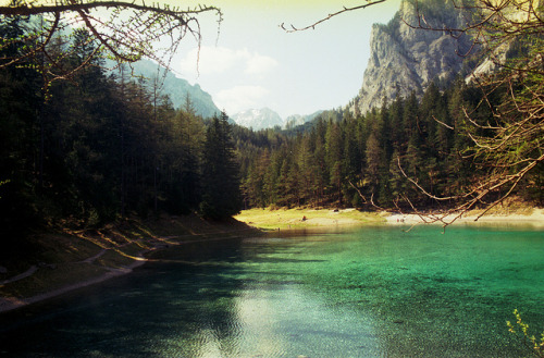 Grüner see at oberort tragös, Austria by Kjell_Doggen on Flickr.