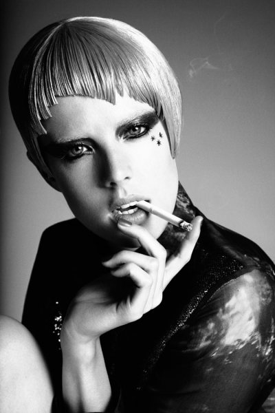 (via Portrait | Agyness Deyn by Damon Baker)