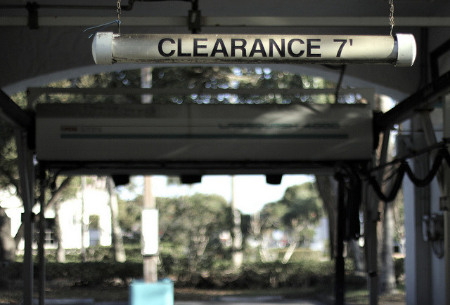 "CLEARANCE 7"" by S. Canterbury. on Flickr."